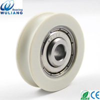 High Quality S608ZZ aluminum window & door pulley with bearing S608z Roller Pulley