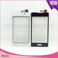For LG Optimus L5 II E460 digitizer touch screen 100% Guarantee Black/white DHL Free shipping