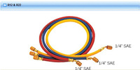 "150cm HONGSEN R12  R22 Standard Charging Hose with 1/4"" SAE Fittings 3 colors"