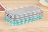 Ultra Thin Soft Rubber TPU Gel Case Clear Cover for iphone 6