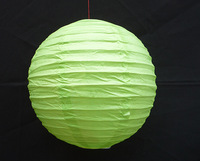 "5PC Green 8"" Chinese Paper Lantern Wedding Party Decorations"