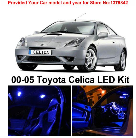 Лампа для чтения Iculed 4 /toyota Celica 2000/2005 лампа для чтения iculed 7pcs scion tc 2008 2014