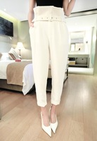 New 2014 Women's Pants Autumn Casual Women All-Match  High Waist Harem Pants Slim Pencil Pants Trousers