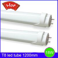 Free Fedex Shipping 25pcs/lot T8 led tube 1200mm 18W white or warm white high brightness SMD 2835 T8 led lamp energy saving