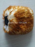 Brown Genuine Sheepskin Car Wash Wool Mitt