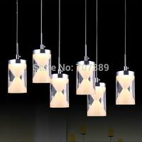 LED pendant lamp Acrylic restaurant chandelier Modern bar hanging light home decoration lighting fixture Free shipping