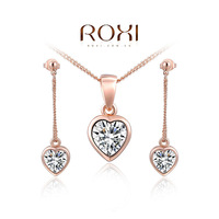 Retail - Free shipping fashion jewelry set,Jewelry Earrings+Necklace set,bridal jewelry sets