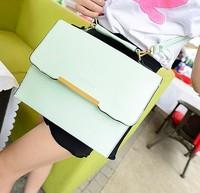 Free shipping new 2014 stereotypes leisure women bags PU leather women handbags metal chain women messenger bags