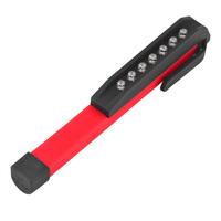 Mini Portable Pen Sized LED Pocket Light with 7 Powerful LED's Creative LED Lamp Lights For Night Use Free Shipping