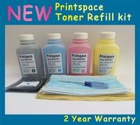 4x NON-OEM Toner Refill Kit + Chips Compatible For Konica Minolta Magicolor 4650EN 4650DN 4650 4690 4690MF 4695 4695MF KCMY