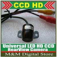 Universal Auto Parking Camera HD CCD Car Rear View Camera Reverse backup Camera rearview parking Wide Angle  Waterproof Camera