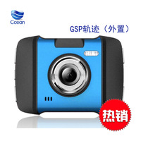 new car camera recorder with tachograph H600 1080p HD Night Vision 3.0 inches wide view angle of 120, with GPS tracker