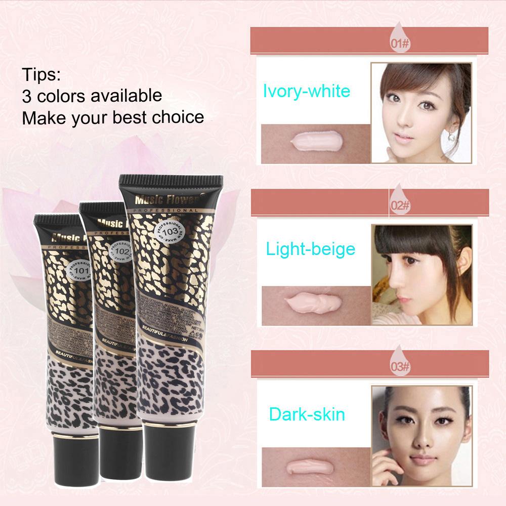 2014 Fashion Music Flower 30ml SPF30 PA++ BB Face Care Cream Whitening Beauty Moisturizing Make up Cosmetics Base(China (Mainland))