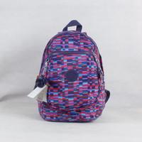 Fashion plaid backpack nylon bags for school girls backpack checks K012021-5