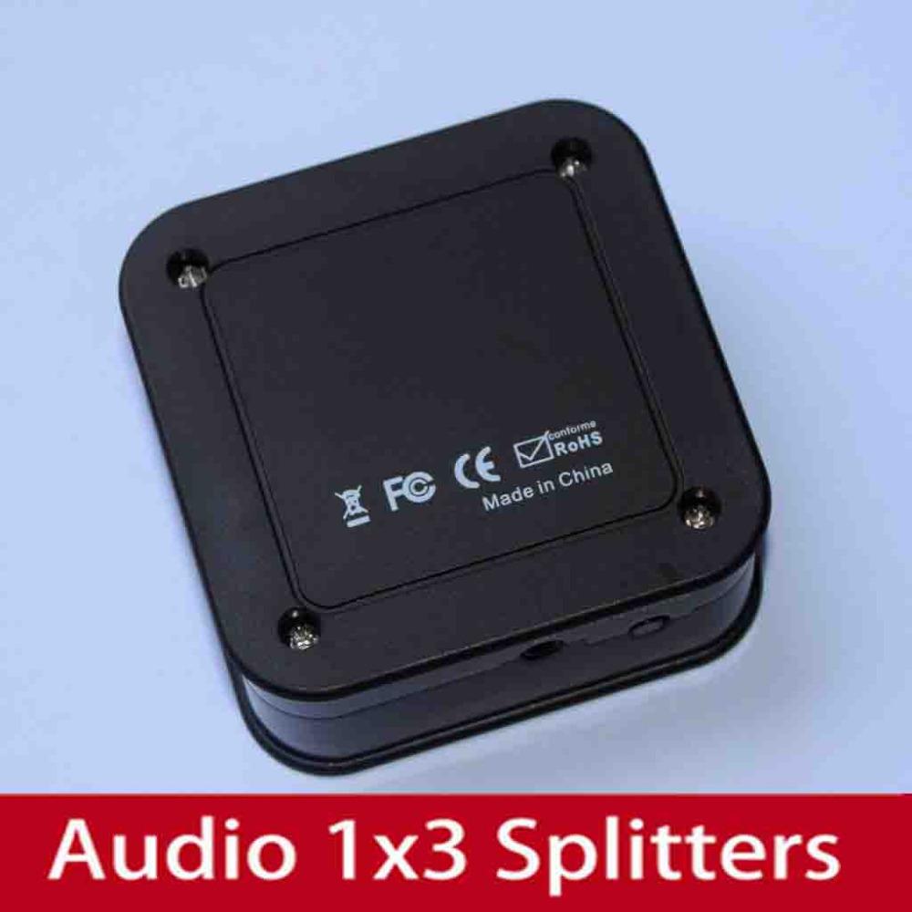 2pcs Mini 3 Port Switch Switcher 3X1 Splitter 3 to1 for HDTV 1080P DVD Audio Video SPDIF/TosLink Digital Optical Audio splitter(China (Mainland))