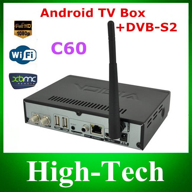 DVB s2 android tv box vigica