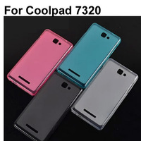 Soft Transparent Jelly TPU Phone Case Cover For Coolpad 7320 Case