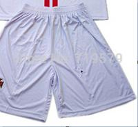Freeshipping 2014 15 season P T G Football club soccer short Thai cotton Home Away Red White Black shorts Word Cup Jersey S-XL