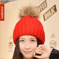 Free Shipping Hot-selling 2014 autumn winter new female caps korean style tide comfortable beauty kint caps women's woolen hat