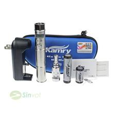 Genuine kamry k201 E-cigarettes kit Telescopic Mech Mod X6 V2 Atomizer Tank Vapor k201 Battery Variable Voltage 3.0–5.0V