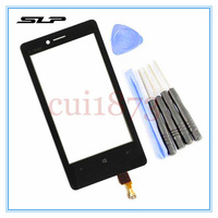 Replacement Touch Screen Digitizer LENS For Nokia Lumia 810 touch panel glass + TOOLS