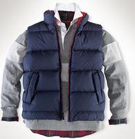NWT Arrival Men's Classic Polo Vests Winter Brand Solid Full Zipper Casual Sports Jacket Coat M-XXL