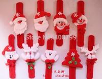 21.5*2.8cm Christmas gift Pat hand ring bracelet for children Slap/Party Decorations Slap Bracelet Free shipping 720pcs/lot