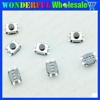 100pcs/lot Micro button tact switch 4 pin SMD little turtle 3x4x2MM 4 * 3 * 2MM single shrapnel temperature