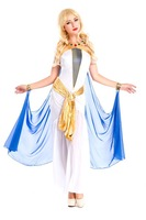 Carnival costume  Adult  Queen Princess Belle Costume Halloween Cosplay Costumes  For Women Greek Goddess Costumes Fancy Dress