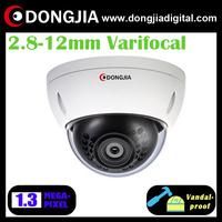 DA-IP6118HDV 2.8-12mm varifocal lens vandalproof dome 960p 1.3m ip camera p2p