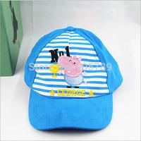 Peppa Pig Baseball Caps Kid Summer Sun Hat Sun protection Hat Student cap  Canvas Caps