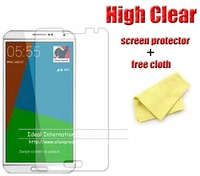 For Samsung Galaxy Note 4 Note4 N910 screen protector film guard,with retail package,high quality+3pcs/lot