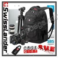 SwissLander,NEW SLR backpack For Canon,SLR Backpacks for Nikon,15.6 inch laptop backpack,single lens reflex bag,w/raincover,lock