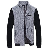 Hot sale men knitted jacket men coat jaquetas fashion outwear 2 colors free shipping CD560
