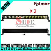 Free DHL  Shipping 2PC 10-30V 31.5'' 180W LED Light Bar Offroad 4x4,SUV,ATV,4WD,Truck LED Work Light Bar 4x4 120W/240W