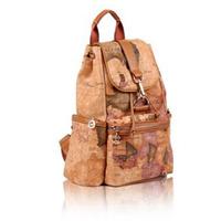 Novelty World Map Backpack Travel Bag  PY0010
