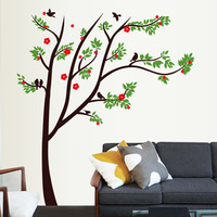 115*130cm(42*52inch) Flower&Tree Wall Decals For Living Room/Bedroom Wall Stickers On The Walls Home Decor Decoration Wallpapers