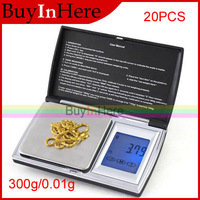 300g/0.01g Electronic LCD Digital Backlight Pocket Touch Screen Jewelry Weighing Scale Balance