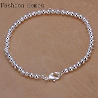 H198 2015 fashion vintage women 925 silver plated bracelets , wholesale classic design silver bracelet fashion jewelry