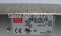 NES-75-12;12V/75W meanwell switch mode led power supply;AC100-240V input;12V/75W output