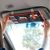 2014 1PCS/LOT Multifunction Large capacity Car debris Storage Bag/ backseat supplies car Storage Bag (Bunk) Free Shipping