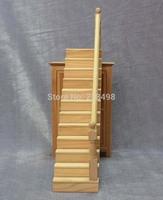 free shipping!  Dollhouse Wooden Stair Stringer Step Left Handrail Handrail Houseworks