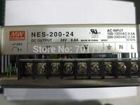 NES-200-24;24V/200W meanwell switch mode led power supply;AC100-240V input;24V/200W output