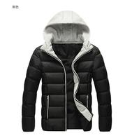 Free shipping  new winter coat The fashion leisure men's cotton jacket Warm upset men jacket