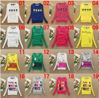 2014 new hoodies long sleeve hoody Print women hoodies round collar women's cotton sweatshirts 45 models free shipping