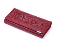 Genuine Leather women wallets long clutch purse alligator women's wallet fahsion hasp,free shipping