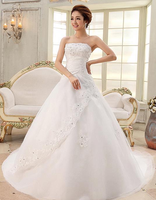 Wedding Dresses  Free Shipping : Bridal wedding dress gown vestido de noiva in