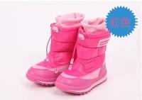 2014 antiskid waterproof winter boots warm snow boots child girls snow boots  Foot length 20 ~ 22cm