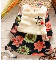 Free shipping - and more children's skirt Explosive han edition big rabbit hair flower children's skirt