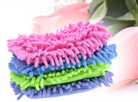 Microfiber Chenille car cleaning cloth chenille car cleaning glove Car Wash Glove
